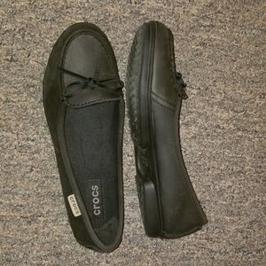 Women's Black loafers, size 7 NWOT